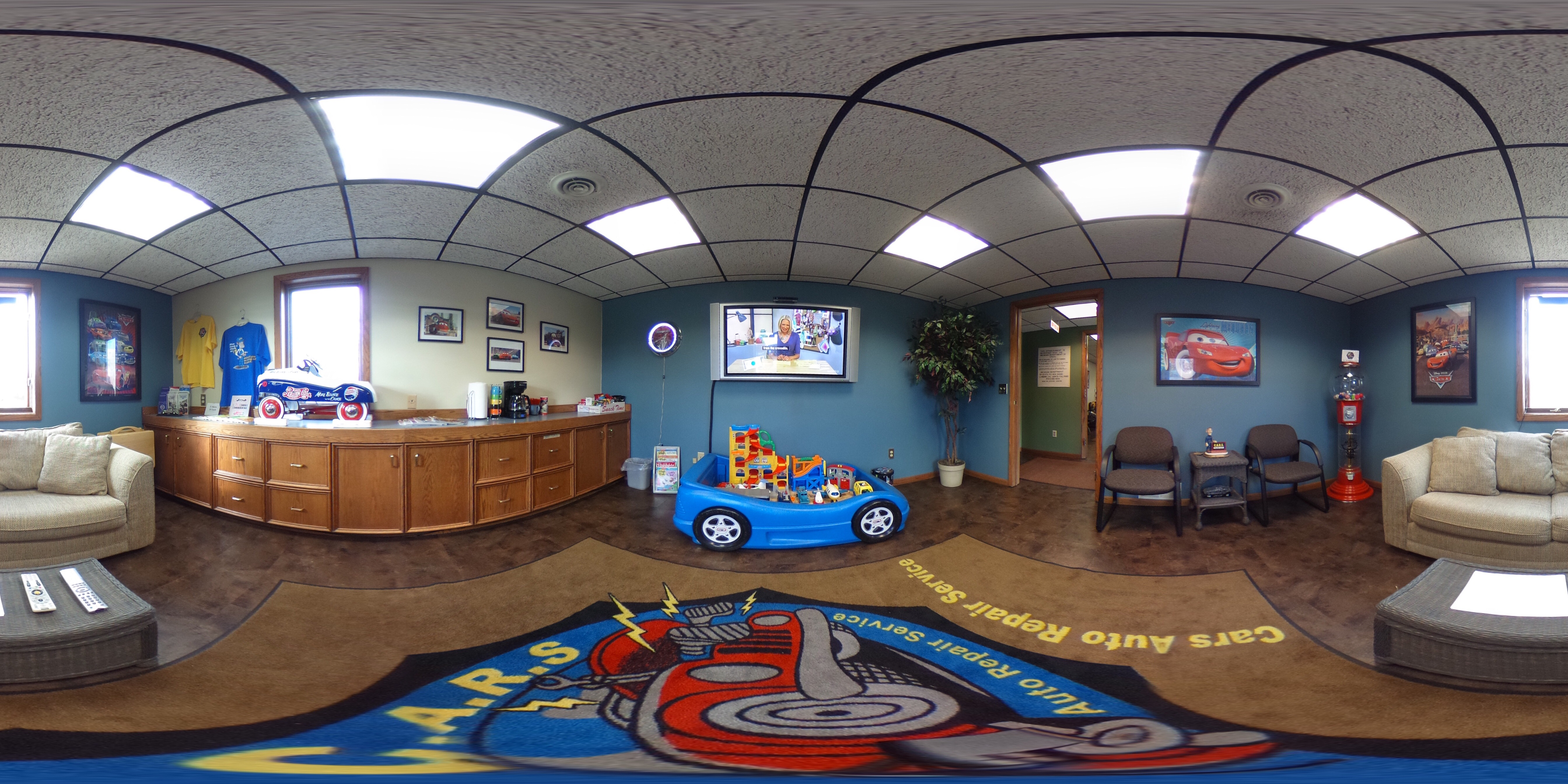 Newly Remodeled Waiting Room